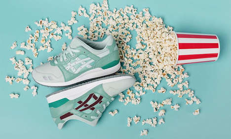 Silver Screen-Inspired Sneakers