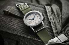 Paratrooper Timepieces - The Longines Heritage Military COSD Watch Takes After a 1940s Design