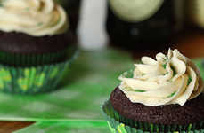 Irish Cocktail Desserts - The Boozy St Patrick's Day Cupcakes are Inspired by the Irish Car Bomb