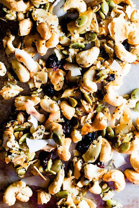 Autumnal Paleo Snack Mixes