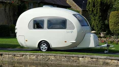 Egg-Shaped Caravans
