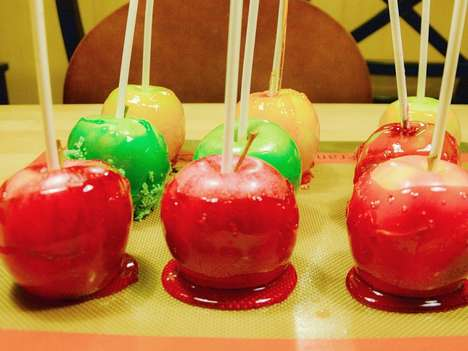 Colorful Candy Apple Recipes