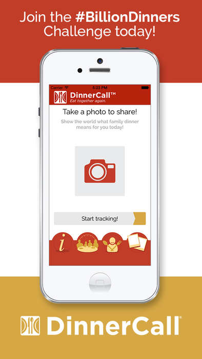 Familial Dinner Apps - DinnerCall is a Family Dinner App That Aims to Make Mealtime Special Again