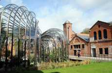 Botanical Garden Breweries - This Historic Distillery Features a Modern Glass Greenhouse