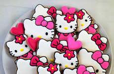Cartoon Cat Desserts