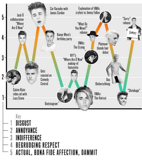 Pop Star Infographics