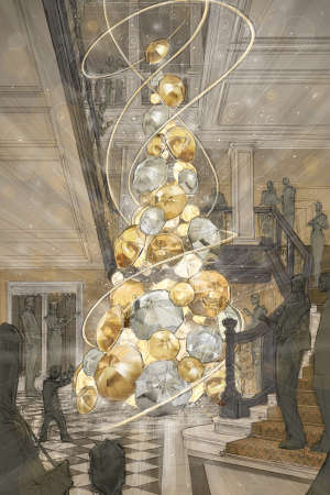 Haute Holiday Hotel Decor - This Burberry Christmas Tree Will Adorn the Lobby of Claridge's London