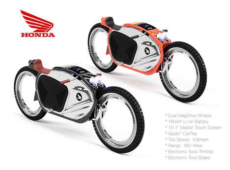 Hub-Free Motorcycles