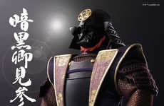 Traditional Sci-Fi Toys - The Darth Vader Samurai Warrior Doll is Ornately Designed