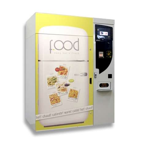Frozen Food Vending Machines - BICOM's Machines Release Frozen and Hot Food on Demand