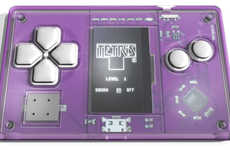 Card-Sized Game Consoles - This Tiny Tetris Pocket Game Offers Discreet, Addictive Entertainment