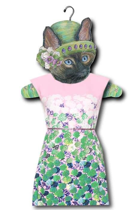 Formal Feline Hangers