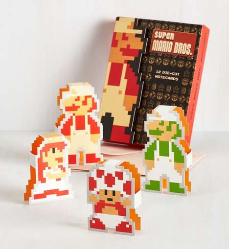 3D Gamer Greeting Cards