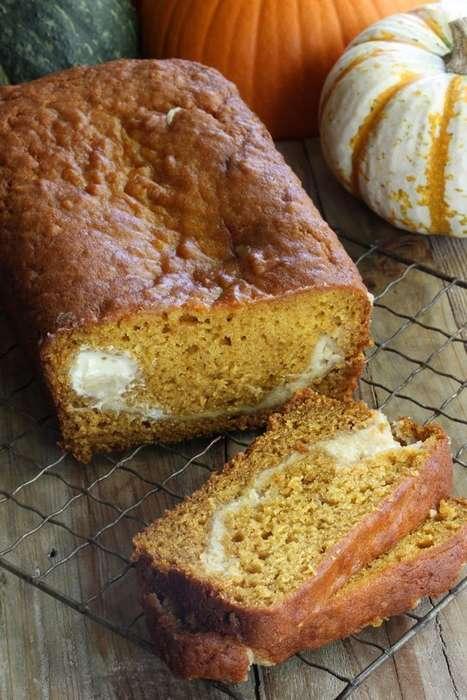 Cheesy Pumpkin Breads