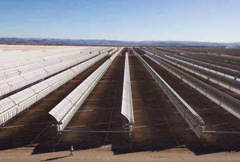 Giant Desert Solar Plants
