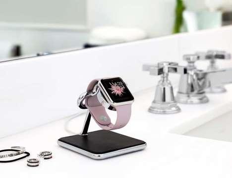 Chrome Smartwatch Stands