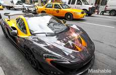 High-Speed Taxi Services - Uber is Offering Free Rides in a $1 Million Mclaren P1