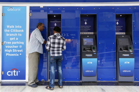 Eye-Scanning Bank Machines - Citibank's Eye-Scanning ATMs Will Be Secure and Efficient