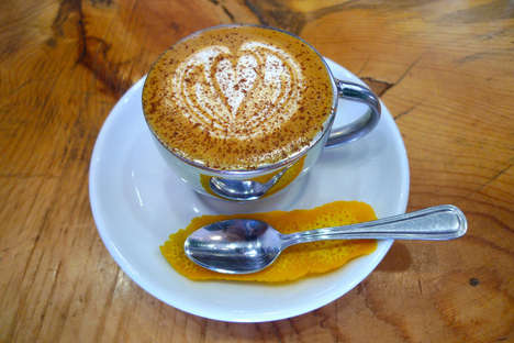 Tahitian Orange Coffees - The 'Caffe Rico' Makes Use of Authentic Ingredients from Tahiti