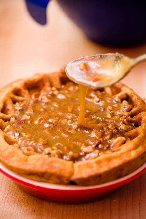 Waffle Pie Crusts