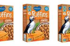 Gmo-Free Pumpkin Cereals - This Limited-Edition Breakfast Cereal is Made from Real Pumpkin
