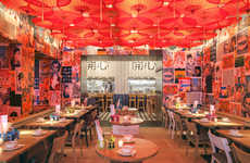 Artwork-Adorned Restaurants
