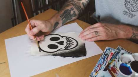 Playful Tequila Skull Art