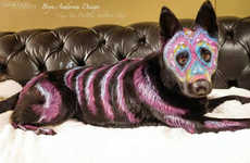 Canine Sugar Skull Designs