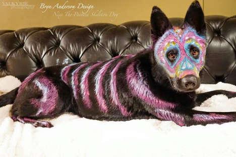 Canine Sugar Skull Designs