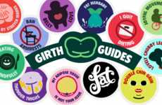 Body Positive Merit Badges