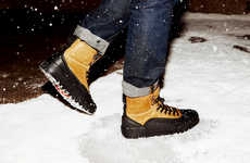 Winterized High-Top Sneakers - These Converse Shoes Have Been Transformed into a Winter Sneaker