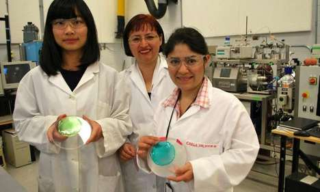 This Plastic Alternative is Antioxidant and Antimicrobial and Plant-Made