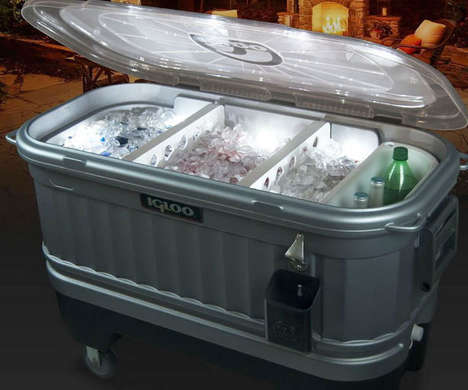Light-Embedded Coolers