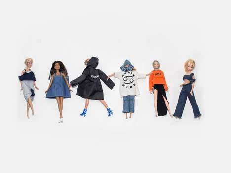 Gender-Blurring Barbie Dolls - These Barbies Have Been Remixed into a Line of Gender-Neutral Dolls
