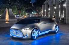 Autonomous Concept Vehicles - The Mercedes-Benz Vision Tokyo is an Autonomous Car Concept