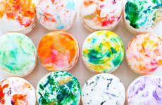 DIY Marbled Macarons - This Crafty Macaron Decoration Makes French Desserts Look Even Prettier