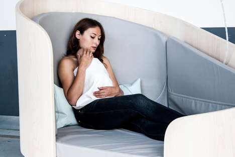 Privacy-Providing Nursing Chairs