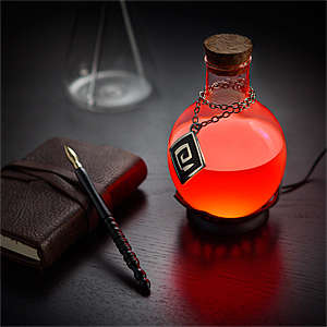 Potion Desk Lamps - This Illuminating Magic Serum Light Changes Color Over Time