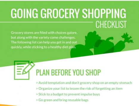 Organizational Grocery Guides