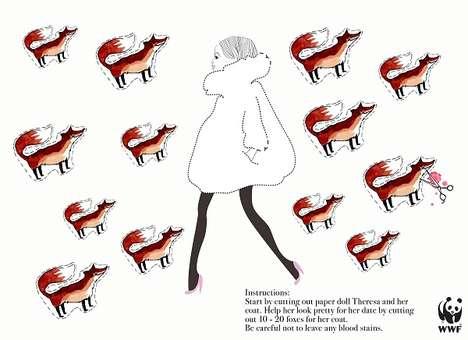 Murderous Fur Coat Ads
