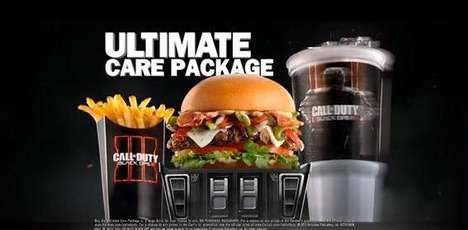 Gamified Burger Ads