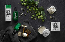 Beer-Infused Beard Products - This Range of Beard Grooming Products Contains Traces of Beer