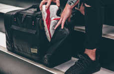 Sneaker Storage Bags - This Duffel Bag is Designed with Sneakerheads Specifically in Mind