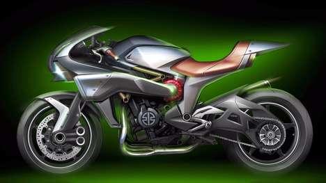 Handsome Japanese Motorbikes