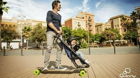 Skateboard-Inspired Strollers
