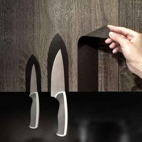 Knife-Holding Decals