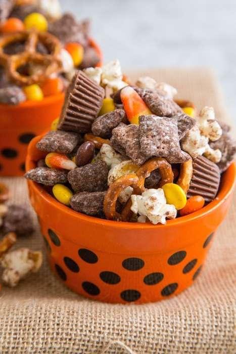 Halloween-Inspired Snack Mixes