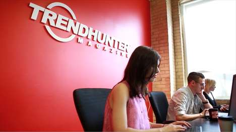 Trend Hunter Behind-the-Scenes - Discover Our One-of-a-Kind Office Culture & Millennial Workplace