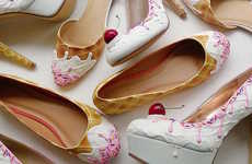 Sweet Treat Stilettos - The Handmade Footwear form 'Shoebakery' Resemble Delicious Desserts