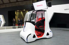 Mobility Device Cars - Honda's Wanderstand Concept is Reimagining the Purpose of Vehicles